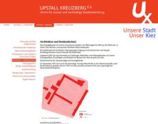 Vereinswebsite . Upstall