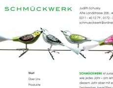 Glas ( baum ) schmuck . Website