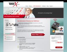 Taskx . Website . Webshop